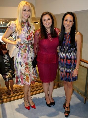 Kameron Westcott, Amanda Shufeldt, Christina White, CCB 10 Best Dressed Luncheon