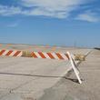 22. Katie Oxford Galveston oil spill March 2014 Blockade at Seawall Boulevard & Apffel Park Road