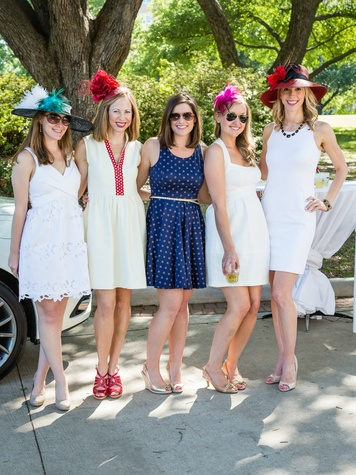 Shelle Wolters, Allison Edwards, Karen Ribar, Jane Marie Jones, Kathryn Moore, Day at the Races