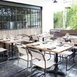 Patio at Arro restaurant in Austin