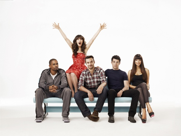 Austin Photo Set: News_Sam_New girl_August 2011_cast still