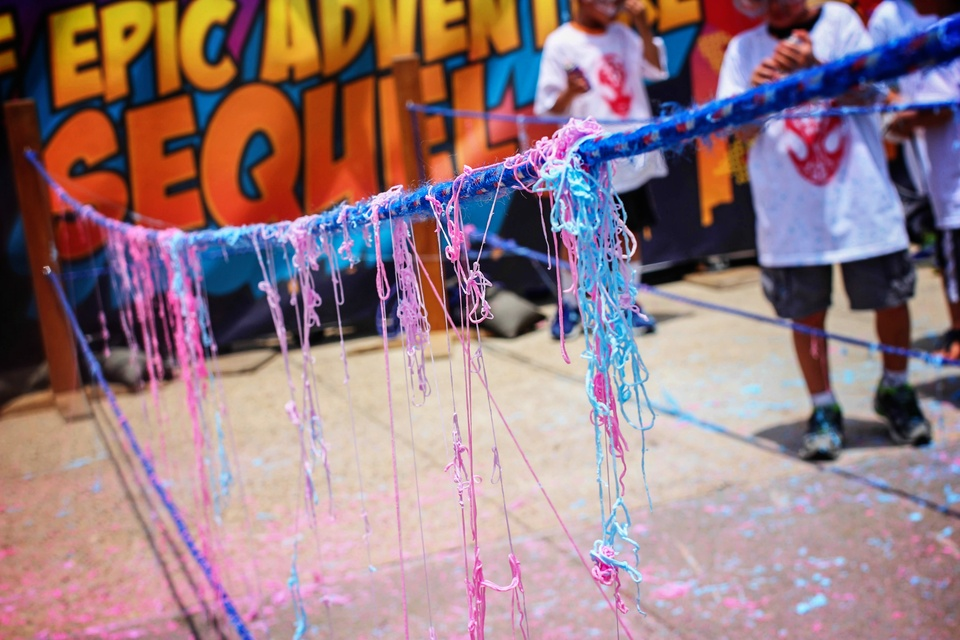 11 Children's Museum with Spiderman Appearance and Silly String Showdown August 2014