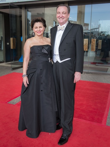385 Beth Madison and Ralph Burch at the Houston Symphony Centennial Ball May 2014