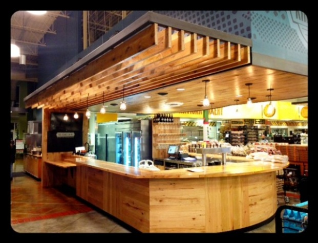 Whole Foods Kirby Kirbside bar wide shot