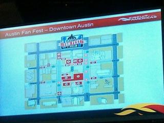 Austin Photo: Kevin_Formula 1 fan fest_August 2012_road closures