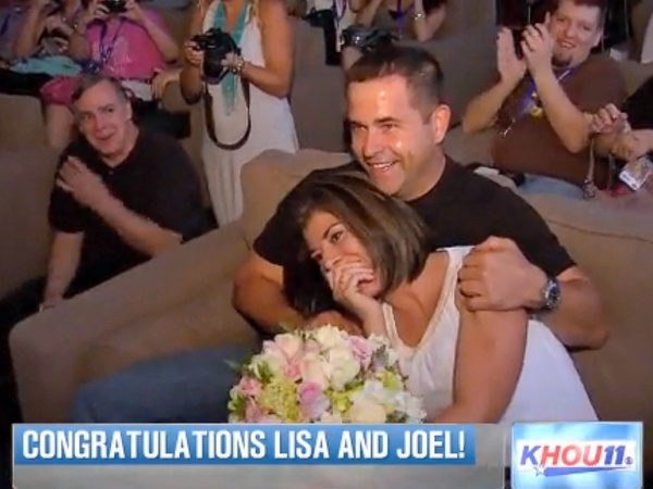 Local Tv News Anchor Gets A Surprise Marriage Proposal From Nba Voice Culturemap Houston