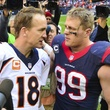 Peyton Manning J.J. Watt meet Texans