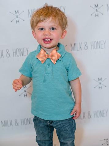 Elijah Newby, Baby Bow Tie Event at Milk & Honey
