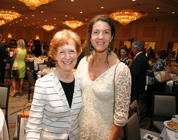 Menninger Luncheon, May 2015, Susan Baker, Elizabeth Winston Jones