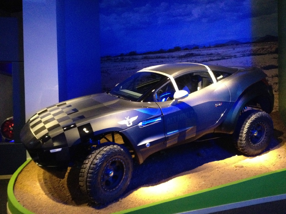 Perot Museum of Nature and Science, fuel efficient car