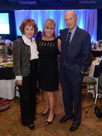Millie Cooper, Penny Barre, Dr. Ken Cooper, thrive event