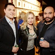 24. Lana Vallet, from left, Mike Diaz and Lupe Espinoza at Gray's Public House Mardi Gras grand opening benefiting Urban Green February 2015