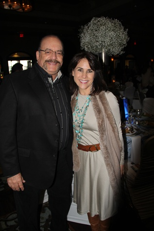12 Alexander Rogers and Maria Bush at the Rodeo Trailblazer Awards Luncheon February 2015