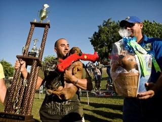 Austin Photo: News_Dacshund Races_Winner