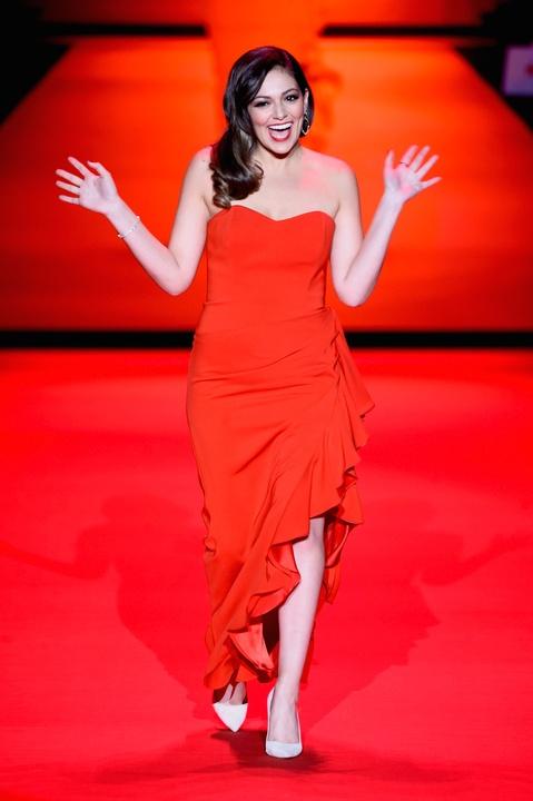 36 Clifford New York Fashion Week Fall 2015 Go Red for Women February 2015 Bethany Moda