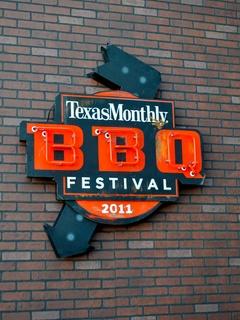 Austin Photo Set: News_Jessica Dupuy_texas monthly bbq_Oct 2011_sign