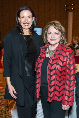 News, Shelby, Red Cross Luncheon, Feb. 2015, Karen Love, Beth Wolff