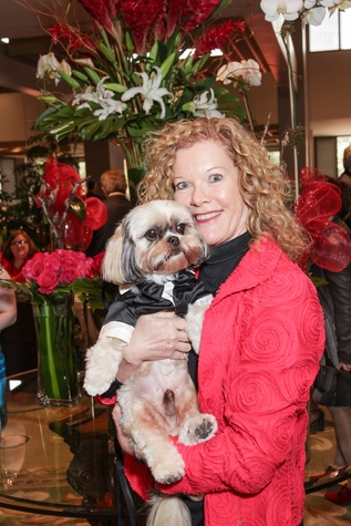 9 M.A. Shute with Bimmer at the Best Friends Brunch benefiting aniMeals on Wheels February 2015