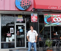 Brooks Bassler_BB's Cafe_Montrose and Westheimer_Tex-Orleans
