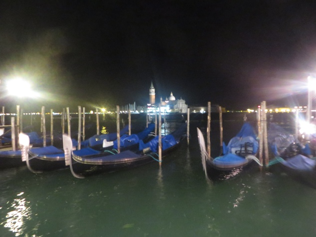 Jane Howze Italy trip Venice October 2014 The canals at night