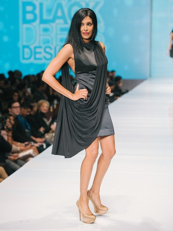 Ursaline Hamilton at Little Black Dress Designer at Fashion Houston Nov. 2014