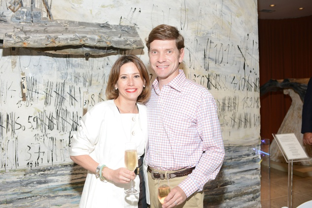 25 Tracey and Drew Baird at the Christofle event June 2014
