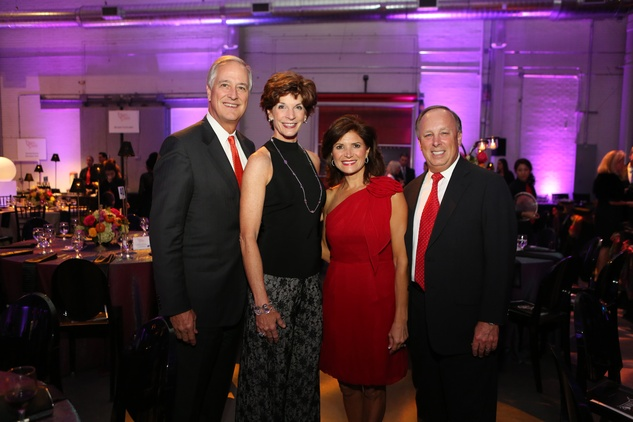 Will and Mary Williams, from left, and Lori and Dan Wolterman at the March of Dimes Signature Chefs event October 2014