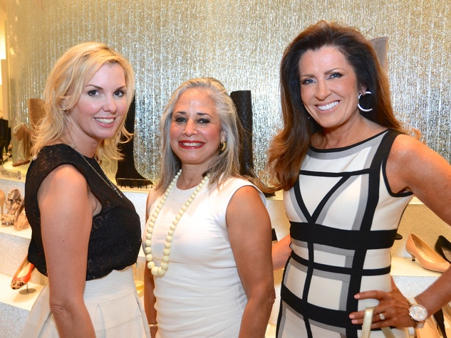 19 Katina Kearns, from left, Eunice Trozzo-Shich and Caroline Kenney at Fresh Faces of Fashion event at Tootsies September 2014