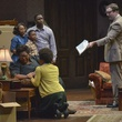Cast of Dallas Theater Center's A Raisin in the Sun