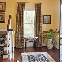 Houzz Fort Worth home tour Ryan Place entryway
