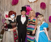 Houston, Childrens Museum of Houston Mad Hatters Ball, Oct. 2016, John Harrell, Caroline Harrell