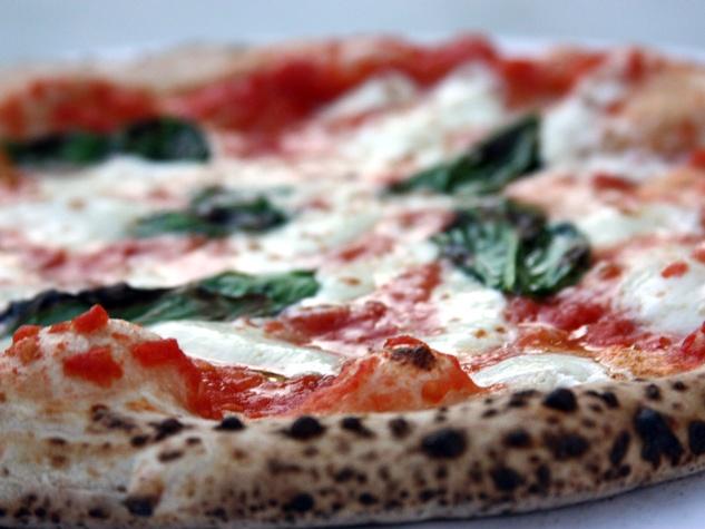 Pizza at Cane Rosso restaurant in Dallas