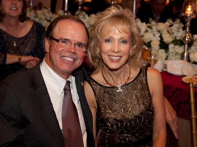 Helping a Hero.org gala, October 2012, Robert Marling, Kim Marling