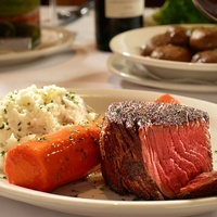 Prime filet at Bob's Steak and Chop House