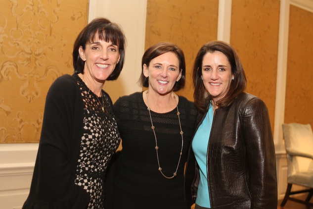 1 Allison Andrew, from left, Kathleen Herd and Cheryl Duff at the The Center Luncheon February 2015