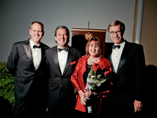 Bering Omega Sing for Hope, September 2012, Jeff Gremillion, Jared Lang, Kathryn Coleman, Hank Coleman