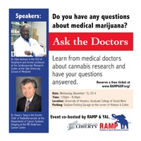 "Republicans Against Marijuana Prohibition and Young Americans for Liberty host ""Ask the Doctors About Medical Marijuana"""