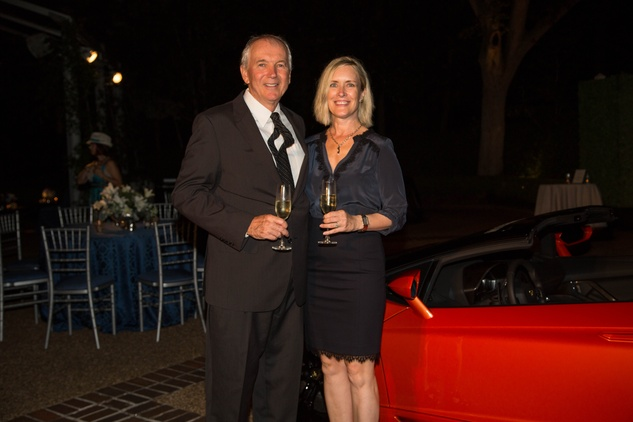 2 Phil and Lisa Natland at the Lamborghini party September 2014