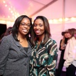 64 Tiffany Sanders, left, and Asha Quant at the Baanou Grand Opening Party November 2014