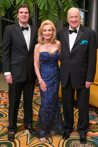 Patrick Breen, left, with Pat and Daniel Breen at the Winter Ball January 2015