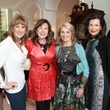 Shelley Reeves, Elizabeth Stein, Denise Monteleone, Betty Hrncir, Crohn's & Colitis luncheon, March 2014