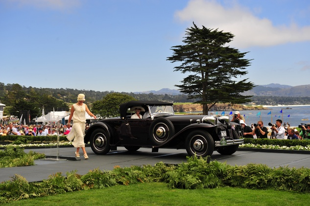 News, Shelby, Pebble Beach Concours d'Elegance, Jim Fasnacht's first place, August 2014