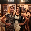 Cristina Wohadlo and Georgianna Siwek at Downton Abbey Manor of Speaking sneak preview