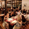 Dinner Crowd at Triniti Restaurant