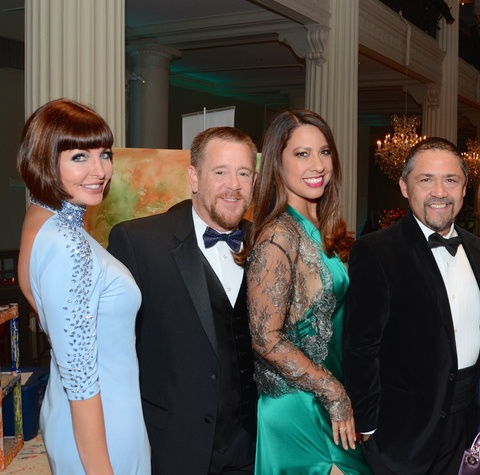 Children at Risk Gala, 4/2016, Staci Henderson, Shelby Kibodeaux, Anika Jackson, Bruce Padilla