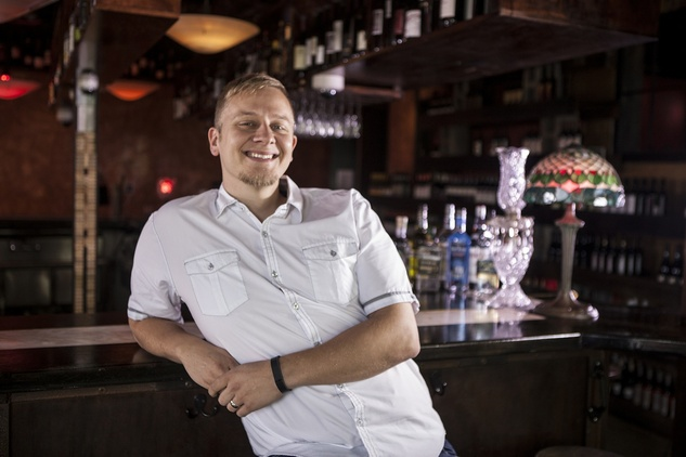 Hal Brock bartender Boheme Montrose