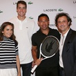Laure Heriard Dubreuil, John Isner and others at The Webster Lacoste party