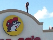 Whitney Radley: A suicide jumper at Buc-ee's? Woman leaps from giant gas station's roof after refusing pleas to stop