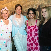 Anna B. McCullough, from left, Emma Moon, Emily Weinstein and Tara Kelly at the Hope Stone Gala March 2014