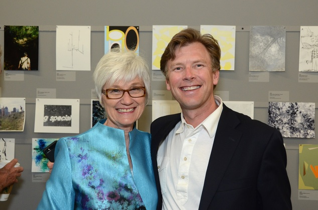 5 Katherine Wade and Bo Butler at Luck of the Draw May 2014